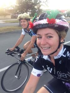 LOVE riding on Christmas Morning with close friends